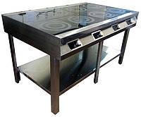 Плита индукционная 8 конфорок 1500/900/900мм