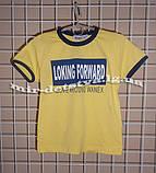 Высококачественные футболки для мальчиков ТМ Wanex, Турция р.92-,122см белый, желтый, фото 3