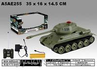 Танк на радиоуправлении, танк на пульте со световыми и звуковыми эффектами, реалистичная модель танка