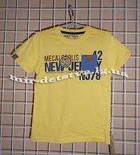Високоякісні підліткові футболки для хлопчиків ТМ Wanex, Туреччина р. 110-116-122см