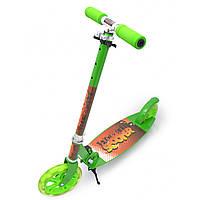 Самокат для детей и подростков Scooter 49, подростковый самокат, 2-х колесный самокат, складной самокат