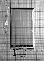 Тачскрин X6 YL1039AB0 W 44*76 мм (№2226)