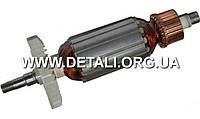 Якорь болгарка DWT 125 LV ( 162*35 шпонка 8 резьба)