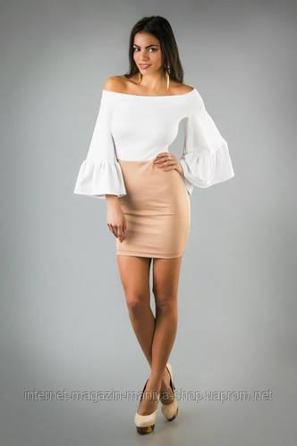 Платье женское со сьемной юбкой