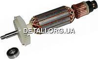 Якорь болгарка Bosch GWS 15-125 CIE оригинал 1 607 000 V35 ( 185*35 посадка 8мм резьба )