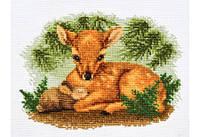 """Набор для вышивки крестом """"Утро в лесу"""""""