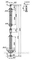 Высоковольтные изоляторы ГЛК 300/750-III