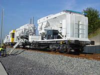 Мобильный бетонный завод на ж/д платформе