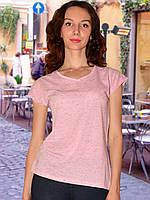 Женская футболка (Розовый)