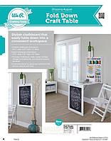 Раскладной стол для рукоделия We R Memory Keepers Fold Down Craft Table 80005-7