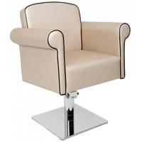 Кресло парикмахерское ART DECO гидроподъёмник + хромированная крестовина