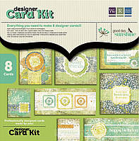 Набор бумаги для создания открыток We R Memory Keepers Designer Card Kit, Good Day Sunshine 41995-2