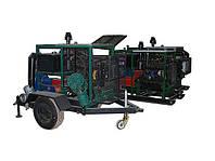 Мотопомпа для полива с дизельным приводом
