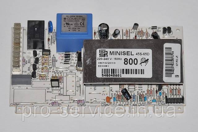 Модуль управления MINISEL  код 546040801 для стиральных машин Ardo AE810, AE800X
