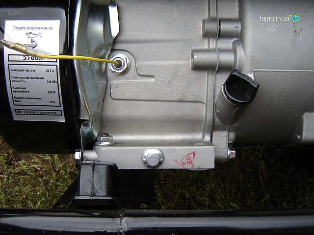 Бензогенератор Tiger TG 3700S 2,5 кВт фото 13