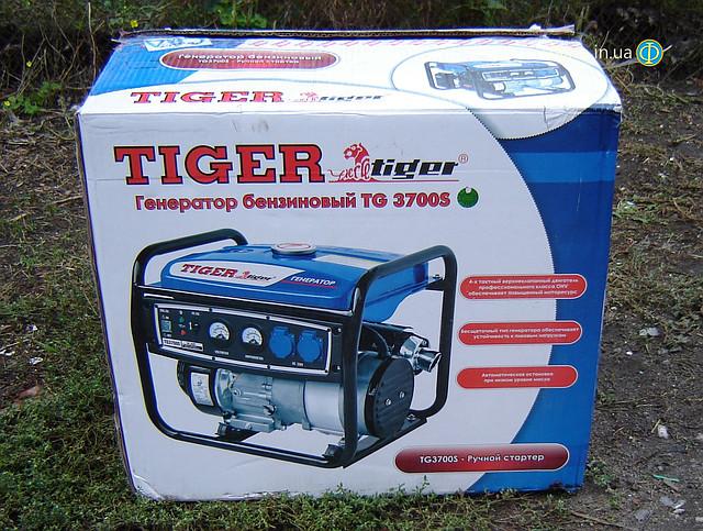 Бензогенератор Tiger TG 3700S 2,5 кВт  фото 15