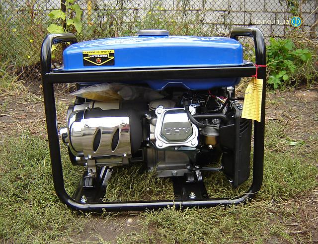 Бензиновый генератор Tiger TG 3700S 2,5 кВт