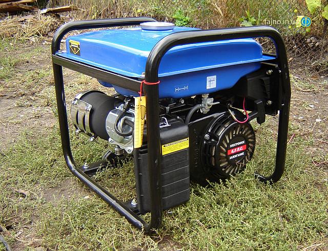 Бензиновый генератор Tiger TG 3700S 2,5 кВт  фото 5