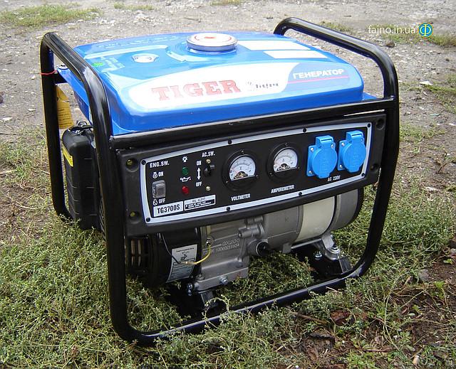 Бензиновый генератор Tiger TG 3700S 2,5 кВт фото 10