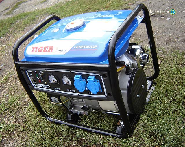 Бензиновый генератор Tiger TG 3700S 2,5 кВт  фото
