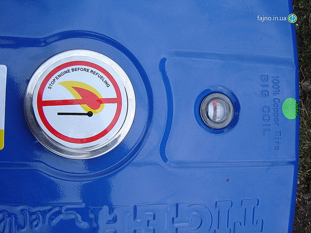 Бензиновый генератор Tiger TG 3700S 2,5 кВт фото 6