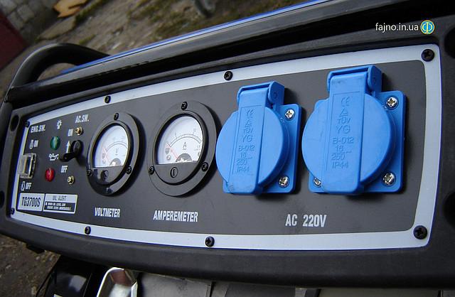Бензиновый генератор Tiger TG 3700S 2,5 кВт фото 11