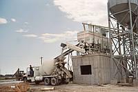 Мобильный бетонный завод на раме