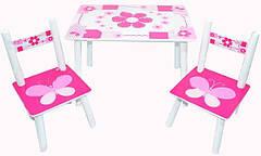 Детские столы и стульчики для детей от 2-х лет
