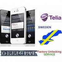 Unlock iPhone 4 4S 5 5S 5C 6 6+ 6S 6S+ SE 7 7+ Telia Sweden