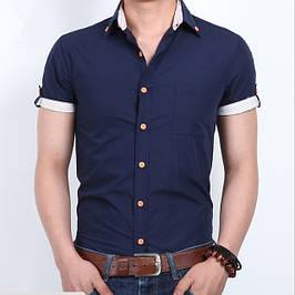 Мужские рубашки Dergi с коротким рукавом