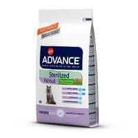 Advance (Эдванс) Cat Hairball Sterilized корм дл0я стерилизованных кошек индейкой и кукурузой 10кг