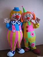 """Куклы-ростовушки """"Веселые клоуны"""""""
