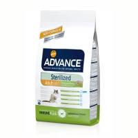 Advance (Эдванс) Cat Sterilized корм для стерилизованных кошекc индейкой и ячменем 1.5кг