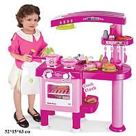 Игровой набор Кухня 008-82 с вытяжкой, розовая