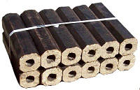 Топливные брикеты - твердое топливо