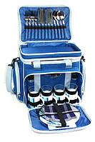 Набор для пикника на 4 персоны Time Eco Picnic в комплекте с изотермической сумкой 25л