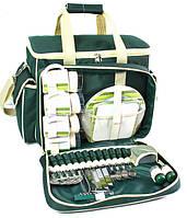 Набор для пикника на 4 персоны Time Eco Picnic в комплекте с изотермической сумкой 30л