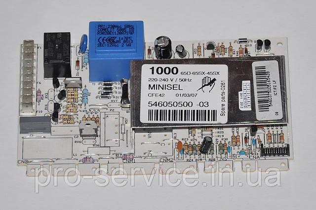 Модуль управления MINISEL  код 546050500 для стиральных машин Ardo AE1010, AE1000X