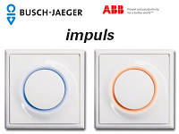 Выключатели розетки ABB Impuls (электрофурнитура)