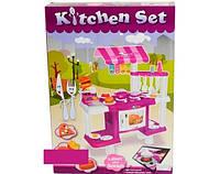 Кухня 383-012 с посудой и кассой, на батарейках, с музыкой и световыми эффектами