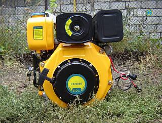 Дизельный двигатель Sadko DE-300E (6 л.с., электростартер, шпонка)