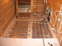 Полы с подогревом, Настильная деревянная система PREMIUM, подогрев полов