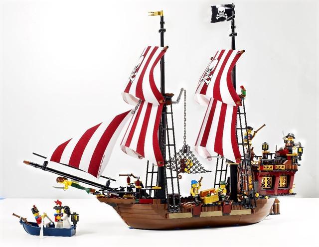 Конструкторы пиратская серия