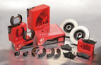 Колодки тормозные задние Opel Kadett(1986-1991) Remsa(439800) барабанные