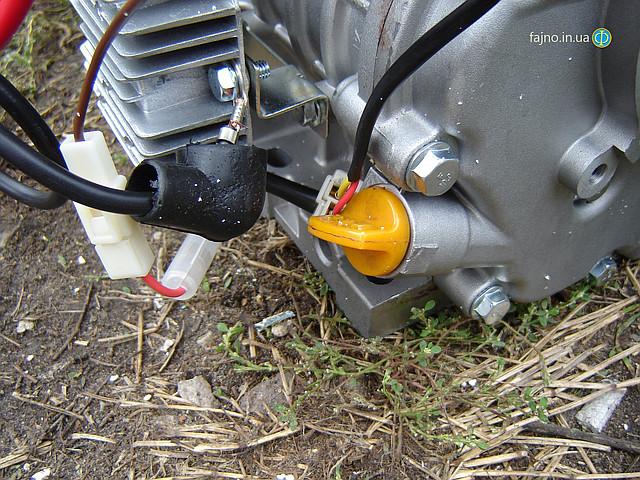 Дизельный двигатель Sadko DE-300E, 6 л.с., с электростартером фото 2