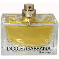 Парфюмированная вода Dolce & Gabbana The One (Дольче Габбана зе Ван) 75ml  (тестер без крышечки)
