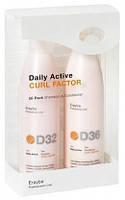ERAYBA D32/D36 Набор CURL FACTOR Серия для вьющ. или хим. завитых волос (шампунь 250 мл + кондиционер 250 мл)