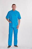 """Чоловічий  медичний костюм """"Стоматолог""""(коттон)"""