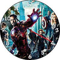 Часы настенные СуперЛЮДИ