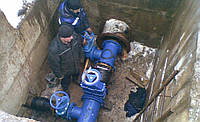 Ремонт трубопроводов водопроводной сети